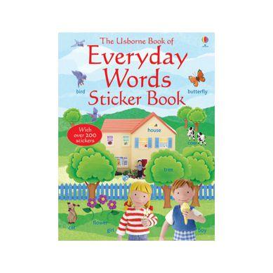 Wydawnictwo Usborne Publishing - Everyday Words in English Sticker Book