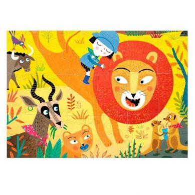 Londji - Puzzle Roar Dzikie Zwierzęta 36 el.