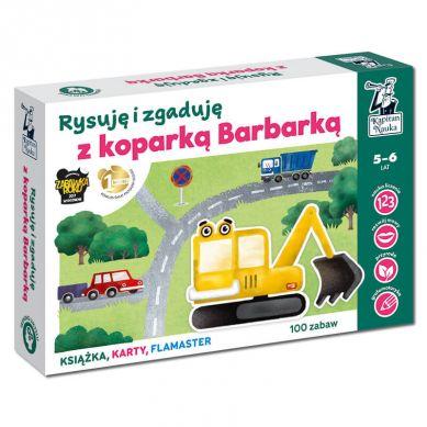 Kapitan Nauka - Rysuję i Zgaduję z Koparką Barbarką 5+