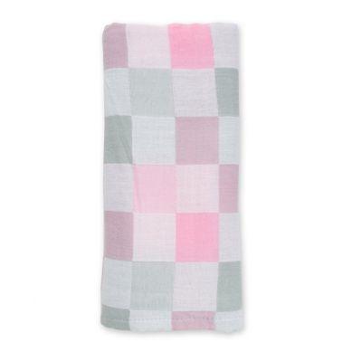 Lulujo - Luxe Kocyk Muślinowy Pink