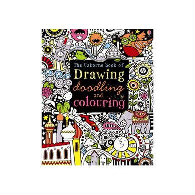 Wydawnictwo Usborne Publishing - Drawing, Doodling and Colouring