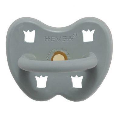 Hevea - Okrągły Smoczek Kauczukowy Gorgeous Grey 3-36m