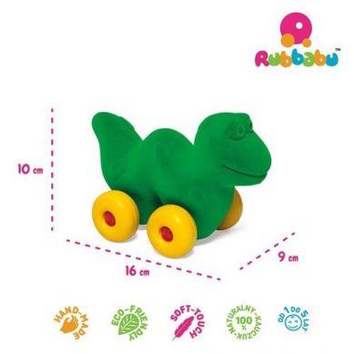 Rubbabu -  Dinozaur Pojazd Sensoryczny Zielony