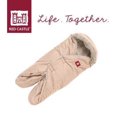 Red Castle - Otulacz Rożek Babynomade Tenderness 0-6m Heather beige