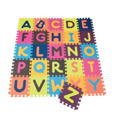B.Toys - Mata Piankowa z 26 Kolorowymi Puzzlami Alfabet