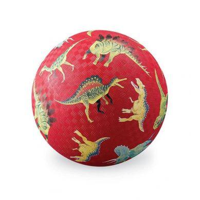 Crocodile Creek - Piłka 18cm Czerwone Dinozaury