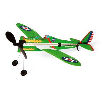Scratch - Samolot Zielony