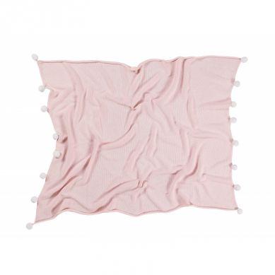 Lorena Canals - Bawełniany Koc Bubbly Soft Pink