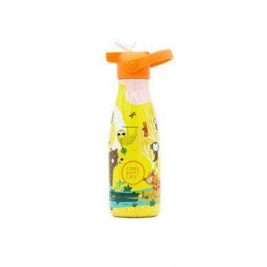 Cool Bottles - Butelka Termiczna Kids 260 ml Triple Cool Jungle park