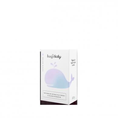 Hagi Baby - Naturalne Mydło dla Dzieci z Olejem Ryżowym