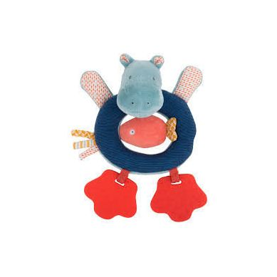 Moulin Roty - Grzechotka Hippo