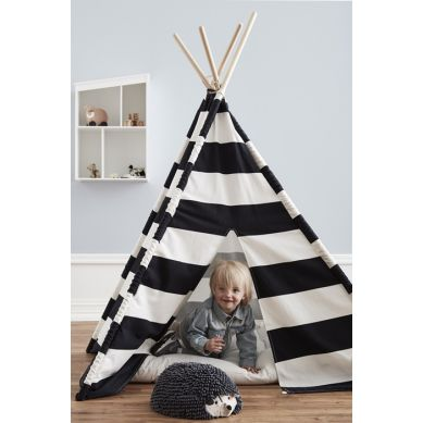 Kids Concept - Namiot Tipi Czarno-Biały
