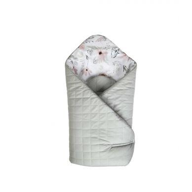 Muzpony - Dwustronny, Mięciutki Rożek Kocyk Magnolia
