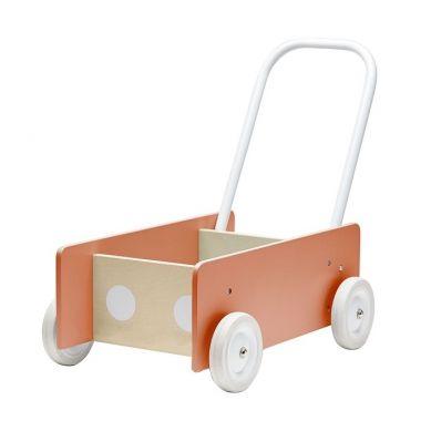 Kids Concept - Pchacz Drewniany Dark Apricot