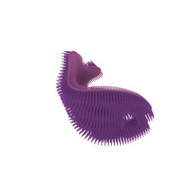 innoBaby - Miękka Silikonowa Myjka-rybka do Kąpieli Fioletowa