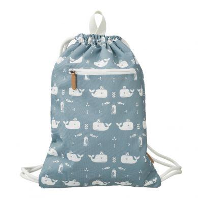 Fresk - Plecak Worek Wieloryb Niebieski