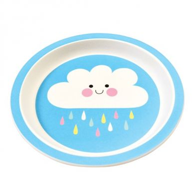Rex - Talerz Bambusowy Happy Cloud