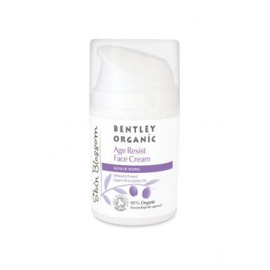 Bentley Organic - Krem przeciwzmarszczkowy Skin Blossom Age Resist  50 ml