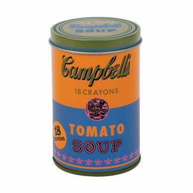 Mudpuppy - Kredki Świecowe Andy Warhole Orange