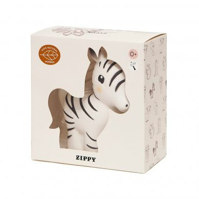 Petit Monkey - Gryzak dla Niemowląt Zippy the Zebra 3m+