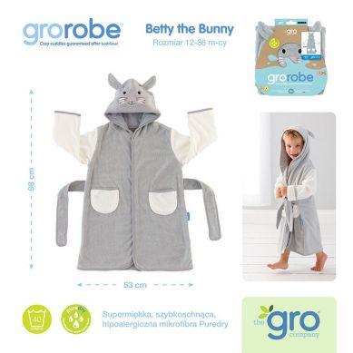 Gro Company - Szlafrok Grorobe Betty the Bunny 12-36 miesięcy