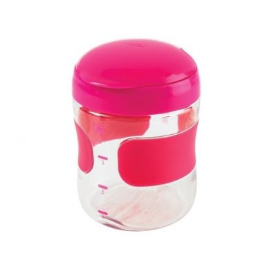 OXO - Pojemnik na Przekąski Duży Pink 200 ml