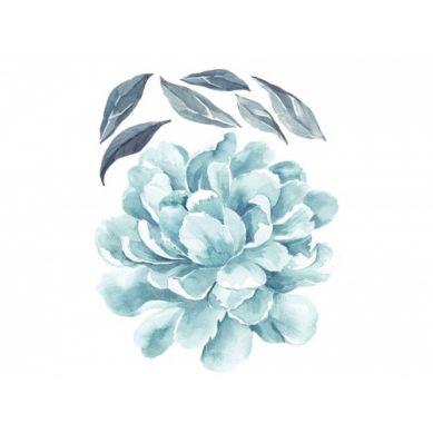 Pastelowelove - Naklejka na Ścianę Piwonia Miętowa 50cm