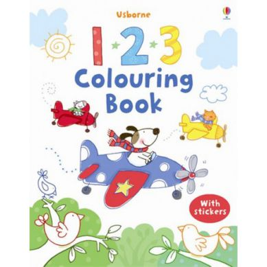Wydawnictwo Usborne Publishing - First Colouring Book 123