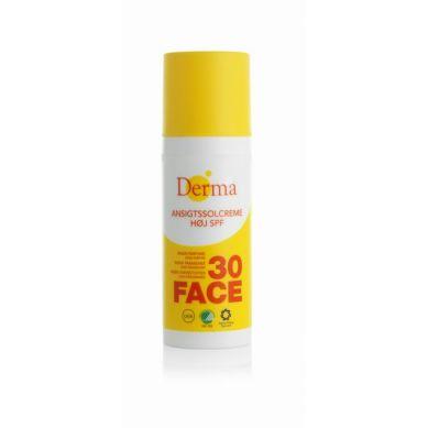 Derma Sun - Krem Słoneczny do Twarzy SPF 30, 50ml
