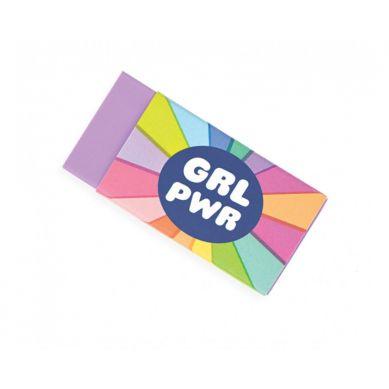 Ooly - Gumki GRL PWR 4szt. 3+