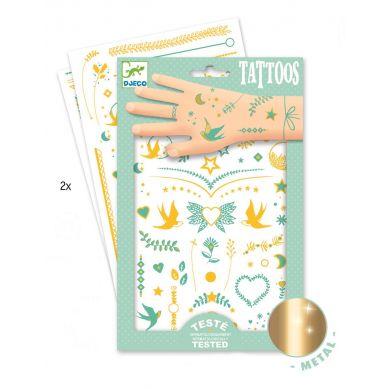Djeco - Tatuaże Metaliczne Klejnoty
