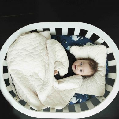 La Millou - Komplet Pościeli Velvet Collection Blanket & Mid Pillow Rafaello