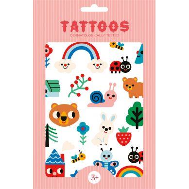 Petit Monkey - Zestaw Tatuaży Nature Friends