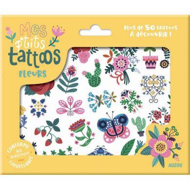 Auzou - Tatuaże Kwiaty 3+