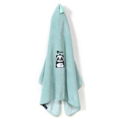 La Millou - Ręcznik Kąpielowy Bamboo Kid by Marta Żmuda Trzebiatowska Mint #ilovepanda