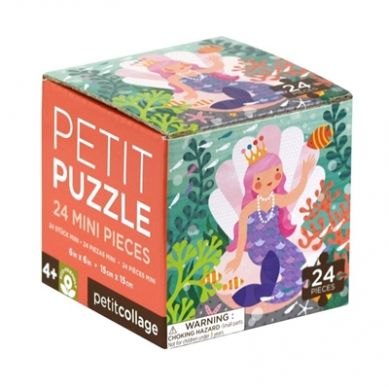 Petit Collage - Puzzle Mini Syrenka