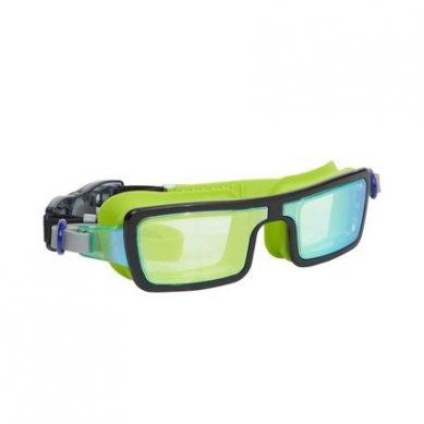 Bling2O - Okulary do Pływania Electric 80s Limonkowe 5+