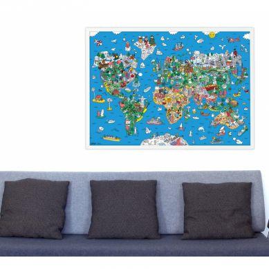 Omy - Plakat Wyklejanka Atlas