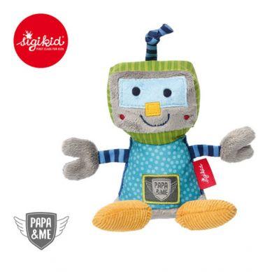 Sigikid - Przytulanka z Grzechotką Robot Papa&Me