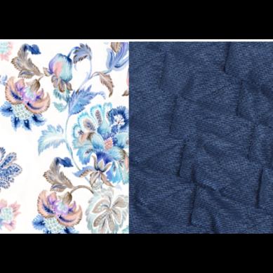 La Millou - Angel's Wings Velvet Colletion Iris Sorbet Harvard Blue