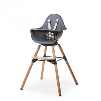 Childhome - Krzesełko Do Karmienia Evolu 2 ONE80 Natural/Anthracitee