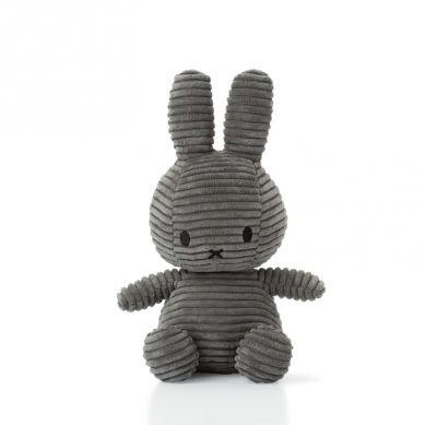Miffy - Przytulanka Miffy Corduroy Dark Grey 23cm