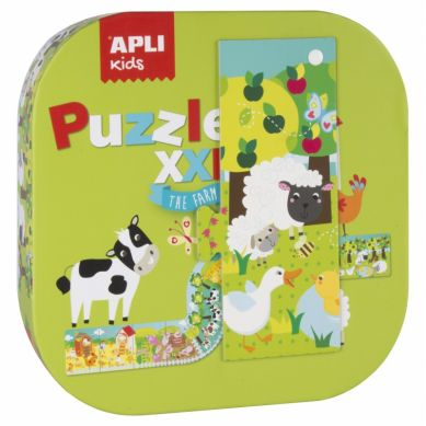 Apli Kids - Puzzle XL Farma 3+