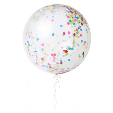 Meri Meri - Balon Gigant Konfetti Multikolor