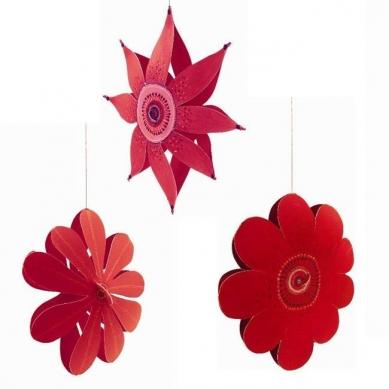 Djeco Dekoracyjne Kwiatki Do Zawieszenia