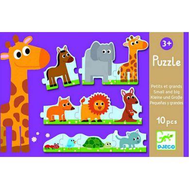 Djeco Puzzle Małe i Duże