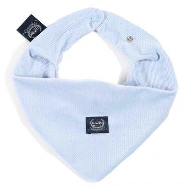 La Millou - Mięciutka Apaszka Velvet Collection Powder Blue