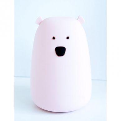 Rabbit&Friends - Lampka Miś Duży Różowy