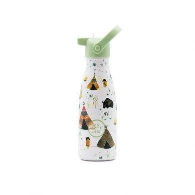 Cool Bottles - Butelka Termiczna Kids 260 ml Triple Cool Indian Tribe
