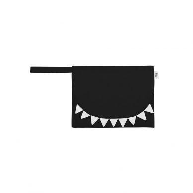 Baby Bites - Przewijak Podróżny Shark Black